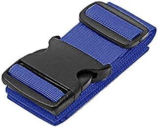 Luggage Straps Adjustable Suitcase Strap(BLUE_1PC)