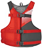 Stohlquist Fit Youth Life Jacket/Personal Flotation Device, 50-90 lb, Red/Gray...