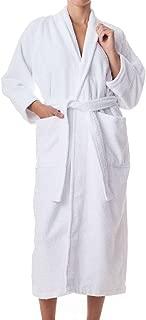 Robes for Women and Men - 100% Long Staple Cotton Bathrobes - Plush Terry Cotton