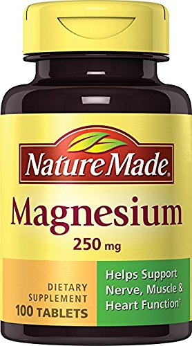 Nature Made Magnesium 250mg, 100 Tablets