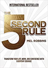 [By Mel Robbins ] The 5 Second Rule: Transform your Life, Work, and Confidence with Everyday Courage (Hardcover)【2018】by Mel Robbins (Author) (Hardcover)