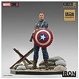 Iron Studios- Figura BDS Art Scale 1/10 Marvel Cap. America 1ST Avenger (20719-10)