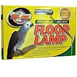 Zoo Med AFL-10E AvianSun Deluxe Standleuchte zur Beleuchtung von Vogelkäfigen