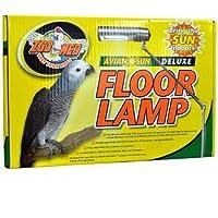 Zoo Med Labs AvianSun Deluxe Floor Lamp Fluorescent Lightning Fully Adjustable