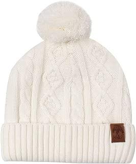 XIAOHAWANG Winter Baby Hats Boys Girls Cute Pom Pom Toddler Warm Beanies Earflap Kids Knit Caps Infant