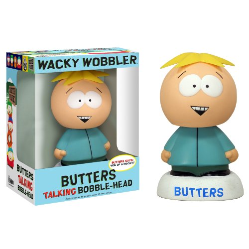 Funko - Bobble Head South Park Butters Talking 18 cm - 0830395083766