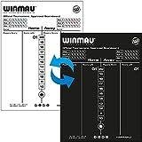 WINMAU Dry Wipe Scoreboard