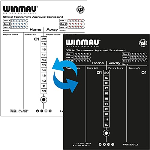 WINMAU Dry Wipe Anzeigetafel