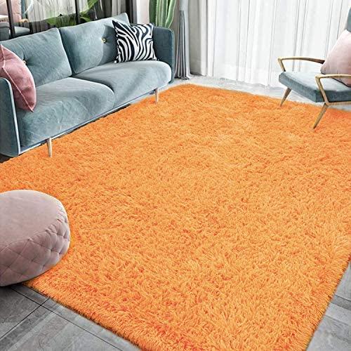 Homore Luxury Fluffy Area Rug Modern Shag Rugs for Bedroom Living Room Super Soft and Comfy product image