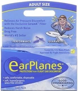 EarPlanes Adult Ear Plugs, 1 Pair Per Pack