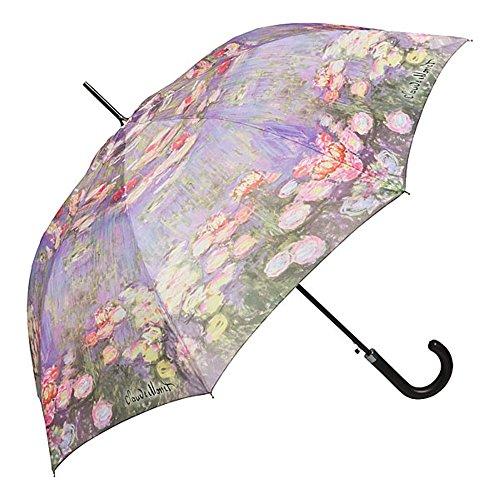VON LILIENFELD® Paraplu Automatische Claude Monet: Seeros Waterlilies Vrouwen Mannen Motief Art Bloemen