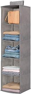 Étagères de rangement suspendues, 5 compartiments Étagères suspendues étagère suspendue en tissu pour la chambre des enfan...