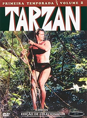 Tarzan 1ª Temporada Volume 2 Digibook 4 Discos