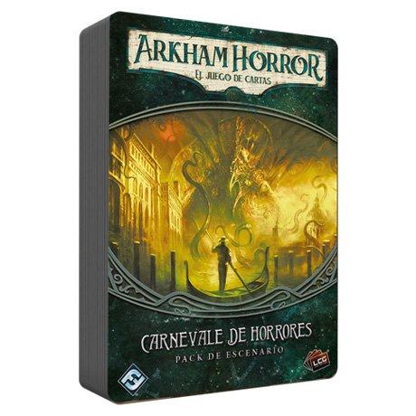 Fantasy Flight Games- Halloween Arkham carnevale horrores-español