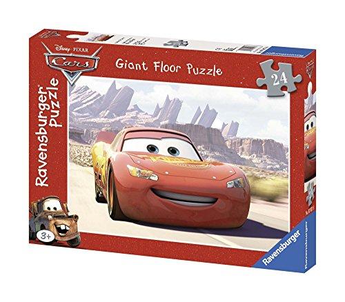 Ravensburger - 07071 - Puzzle Enfant - Cars - Le départ - 24 Pièces - Sol