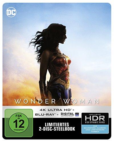 Wonder Woman als Steelbook (Limited Edition) (4K Ultra HD + 2D Blu-ray) [Blu-ray]