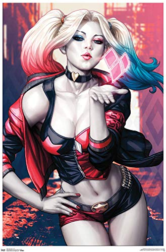 510jFyfmZoL Harley Quinn and Batman Posters