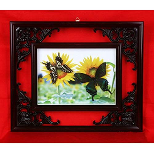 SHUAI Schmetterlingsmuster Dekorationsmalerei Basteln Geschenke Musterrahmen Eckblumenrahmen,3
