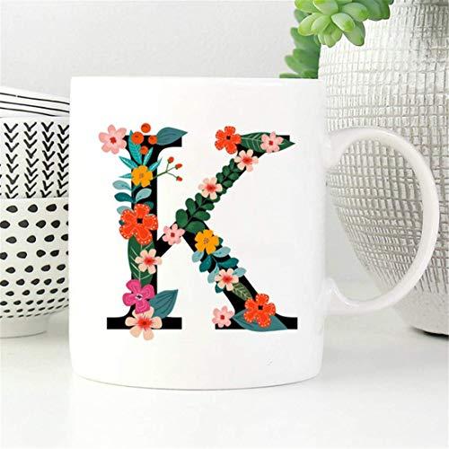 Taza con monograma, taza de monograma, taza de inicial, taza de café...