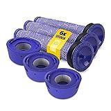 Kit completo de filtro premotor y filtro postmotor Hepa de repuesto para Dyson 965661-01 967478-01 para aspiradora inalámbrica V7 V8