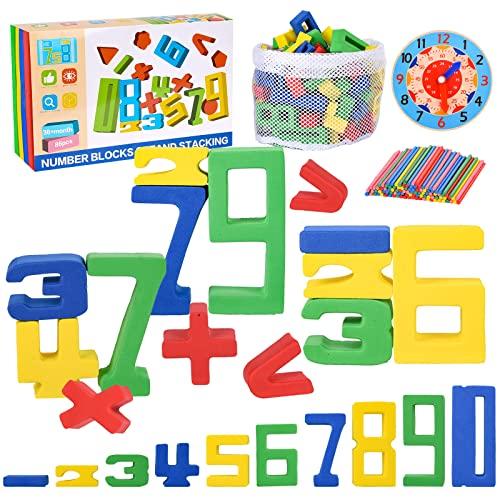 Herefun Zahlenbausteine Montessori...