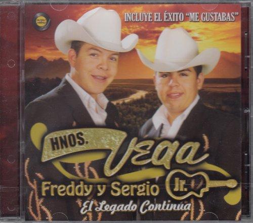 Hermanos Vega Jr Freddy Y Sergio El Legado Continua