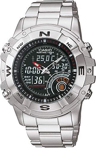 Casio AMW-705D-1AVDF - Reloj (Reloj de pulsera, Acero inoxidable, Acero inoxidable, Acero inoxidable, Acero inoxidable, Mineral)