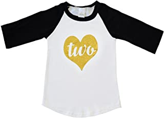 Scarlett Gene Two Year Old Birthday Shirt, Baby Girl Second Birthday Outfit