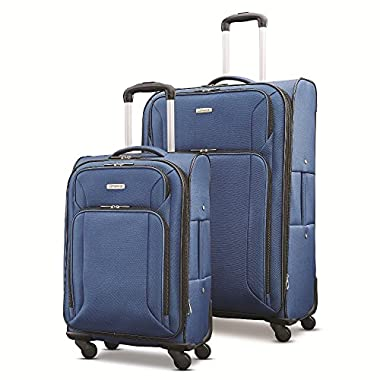 Samsonite Victory 2 Piece Nested Softside Set (21 /29 ), Navy Blue, Only at Amazon