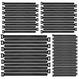 Fascette Velcr, 70pcs Afascette cavi, Fissaggio Fascette con Riutilizzabili Hook e Loop Cinturino Fascette Fascette Velcr per Cavi - 3 Diverse Dimensioni (70 pezzi)