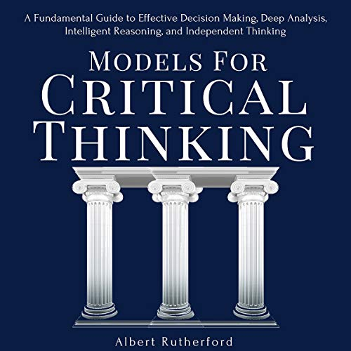 Models for Critical Thinking audiobook cover art