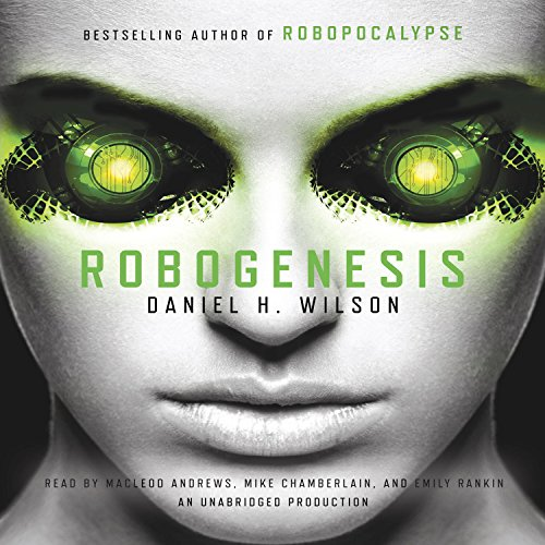Robogenesis audiobook cover art