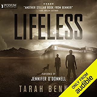 Lifeless audiobook cover art