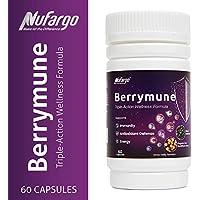 120-Count Nufargo Berrymune Triple-Action Immune Antioxidant Capsules