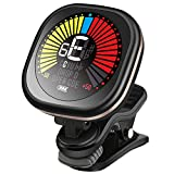 Best Guitar Tuners - Guitar Tuner Rechargeable Clip On LED Color Display Review