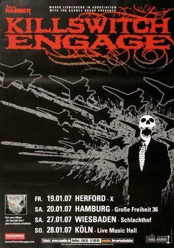 Killswitch Engage - As Daylight Dies, Tour 2007 » Konzertplakat/Premium Poster | Live Konzert Veranstaltung | DIN A1 «