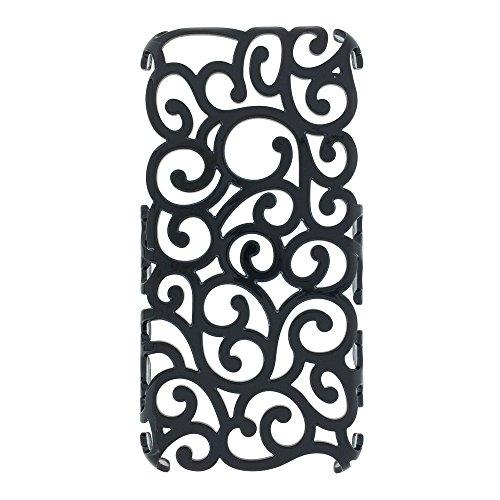 MORE CRYSTAL iPhone6用ケース ブラック 15ID1-1-BLK
