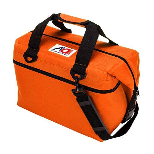 AO Coolers(エーオークーラー) 24 パック キャンバス ソフトクーラー オレンジ 軽量 保冷 クーラーボックス AO24OR (日本正規品)