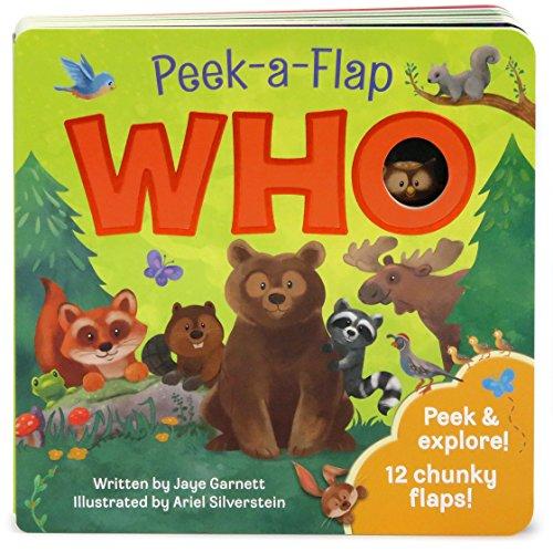Who: Peek-a-Flap Board Book