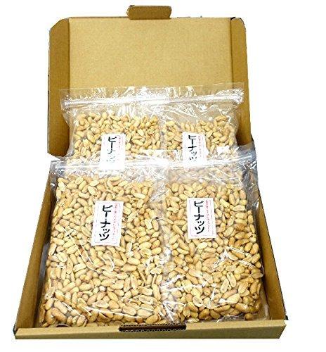 『みの屋 ピーナッツ(塩味) 500g x 4袋』の1枚目の画像