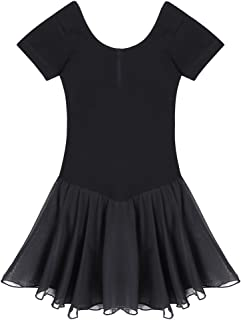 Girls' Ruffle Sleeve Skirted Leotard