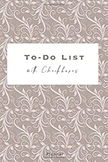 To-Do List with Checkboxes - Planner: Daily Agenda with Checkboxes | 140 pages with Checkboxes, Priority Tasks, Important ...