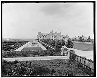 Photo: Biltmore House,estates,mansions,gardens,lawns,Asheville,North Carolina,NC,c1902