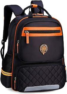50c071ec9e Uniuooi Primary School Backpack Book Bag for Boys Girls 8-12 Years Old  Waterproof Nylon