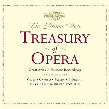 The Prima Voce Treasury of Opera, Vol. 1