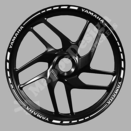 Adesivi cerchi moto mod.1 R6, R1, XJR, FJR, MT-03, MT-10, MT-07, R125