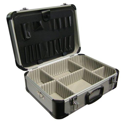 Labor 542618 Valigetta Porta Utensili in Alluminio, 460 x 330 x 170 mm, Angoli arrotondati