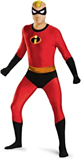 Disguise Men's Mr. Incredible Bodysuit Skinovation T-Shirtn Costume