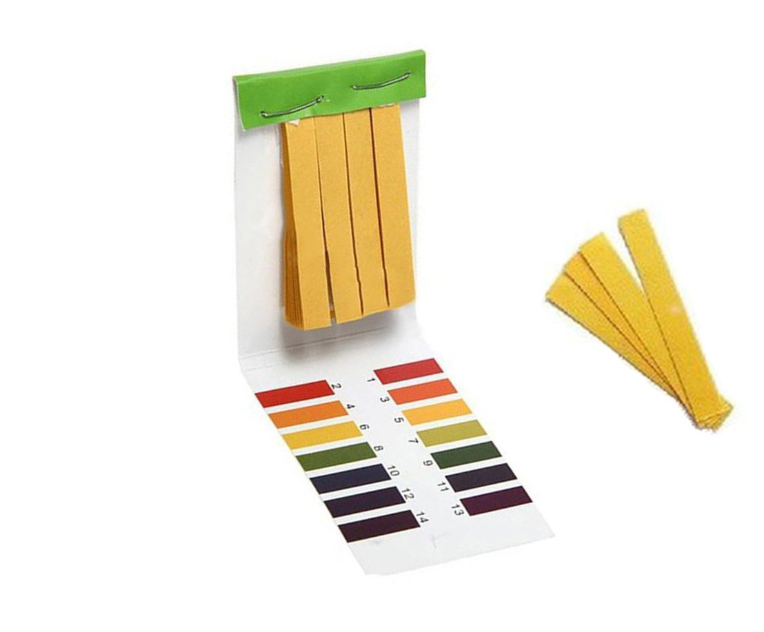 Haobase 80 Pcs Full Ph 1-14 Test T Indicator Paper Strips Litmus High Clearance SALE! Limited time! quality new