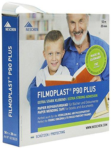 Neschen Filmoplast P90 PLUS 20mm x 50m im Spender, weiß